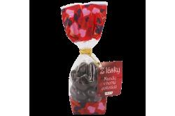 Z lásky - mandle v hořké čokoládě