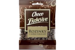 Rozinky v hořké čokoládě