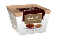 Mandle v mléčné čokoládě