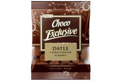 Datle v hořké čokoládě se skořicí