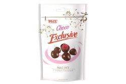 Maliny v hořké čokoládě